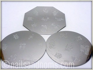 KKCenterHK Stamping Plates: B61, B65, and M33 | by NailsandNoms