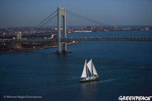 Rainbow Warrior Departs New York | by Greenpeace USA 2016