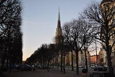 Церковь Оскара. STOCKHOLM. Narvavägen. Oscarskyrkan