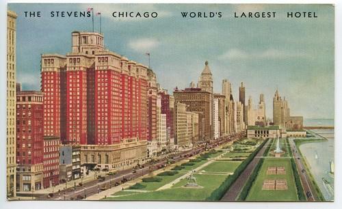 The Stevens • Chicago • World's Largest Hotel (1947?) | by Eric Fischer