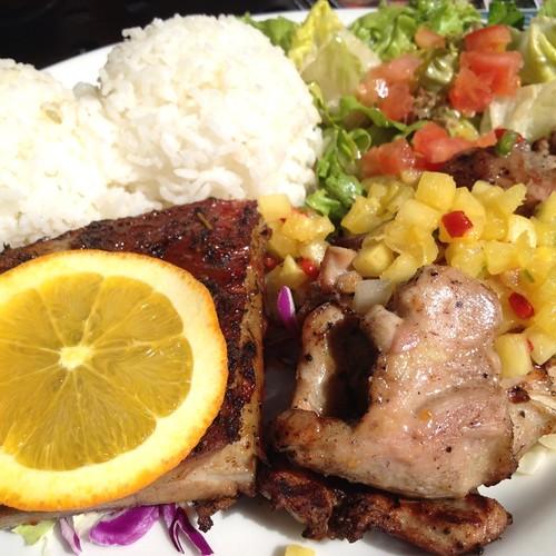 Chicken & Ribs @ Good to Grill | Great combo. (via Foodspott ...