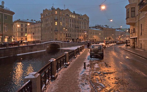 The Moyka river embankment, St. Petersburg | by Sergei Sigov