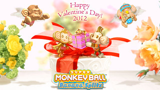 Happy Valentine's Day from Super Monkey Ball Banana Splitz! | by SEGA of America