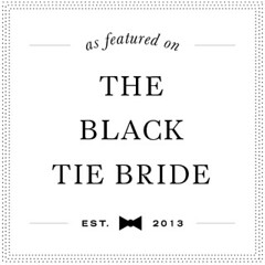 Featured on The Black Tie Bride