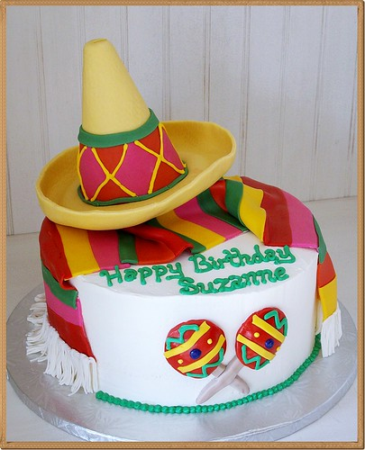rubik s cube cake sombrero themed cake ideas and designs 7177