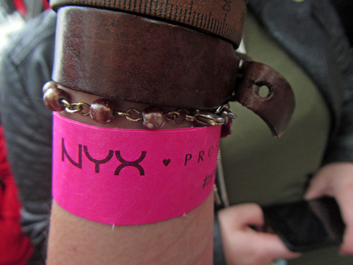 Wristband ...required