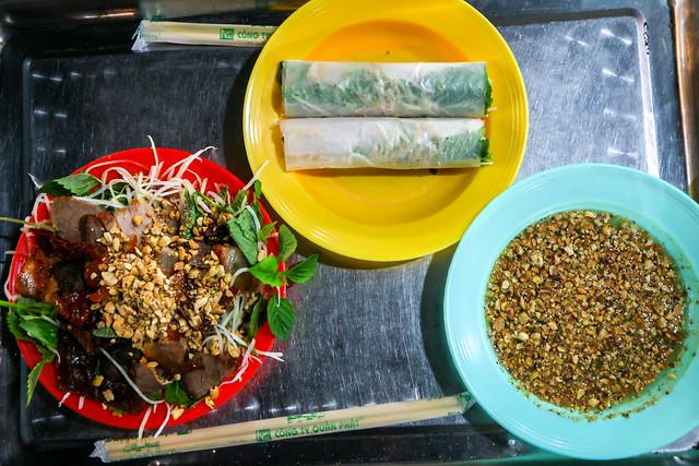 Vietnamese foods eaten in Hanoi, Vietnam ハノイで食べたベトナム料理