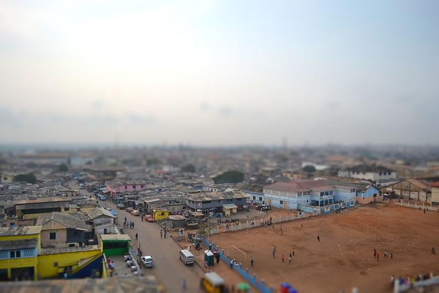 Accra, Ghana Tiltshift