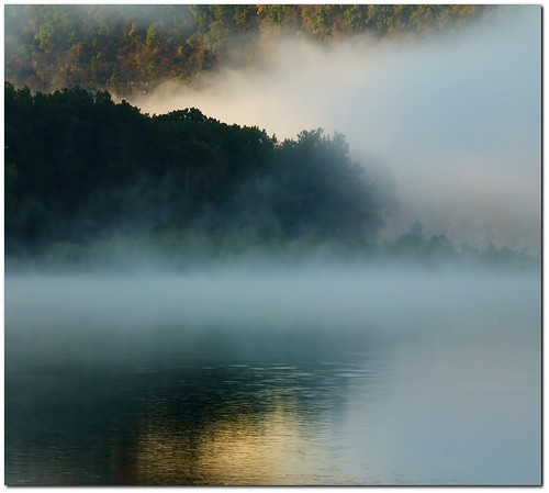 Early Misty Morning Fog On The River | by Kat~Morgan