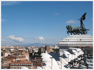 At the top of the Rome | by Anna Che