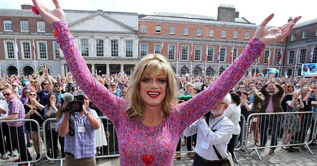 Panti Bliss is the unlikely spearhead of the campaign for same-sex marriage in THE QUEEN OF IRELAND.
