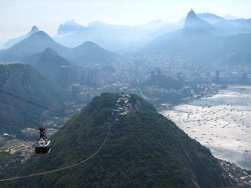 Río de Janeiro, paisajes cariocas entre la montaña y el mar