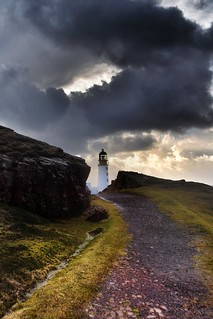 Rua Reidh Lighthouse - A blink of light - (explored) | by Michael Carver Photography