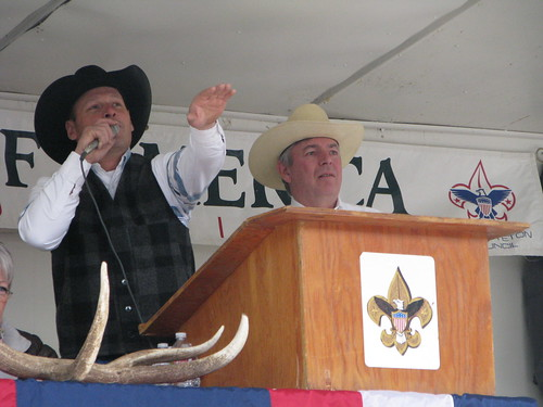 Auctioneers Hard at Work | by USFWS Mountain Prairie