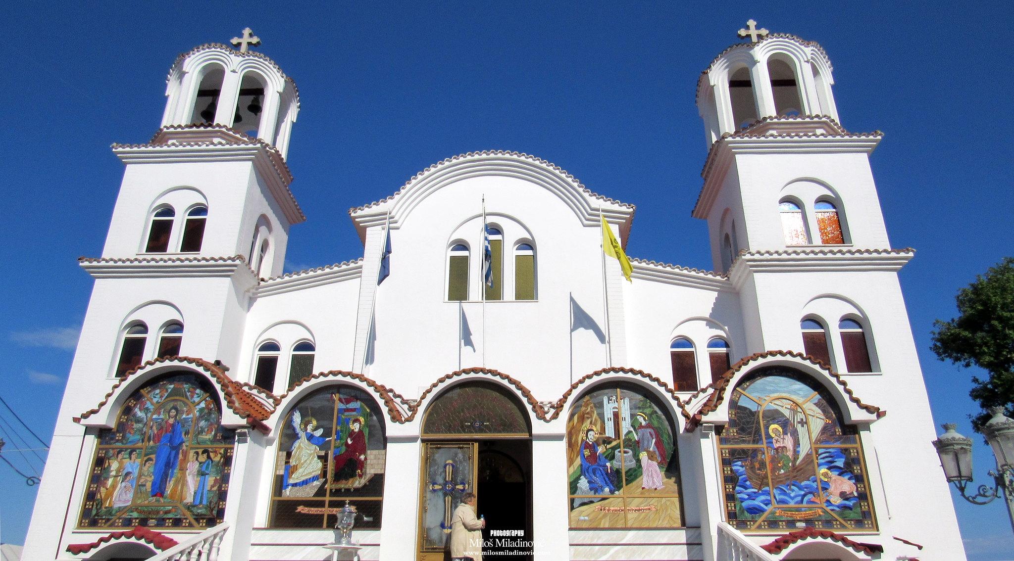 Paralija - Hram svete Fotine