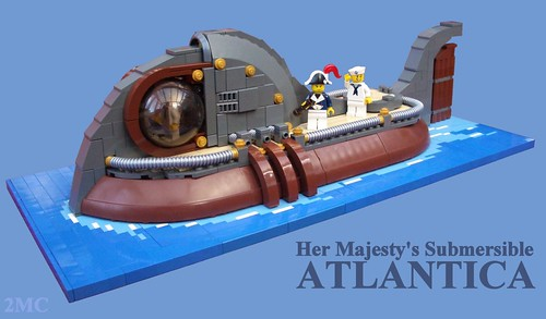 Her Majesty's Submersible Atlantica | by 2 Much Caffeine