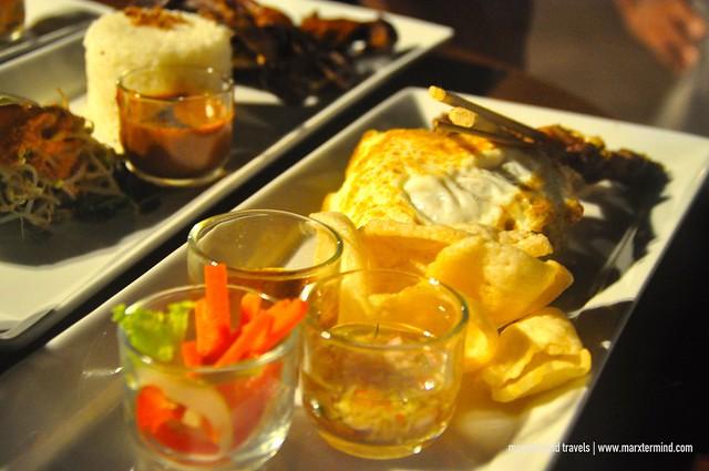 Dinner at Kayangan Restaurant Holiday Resort Lombok