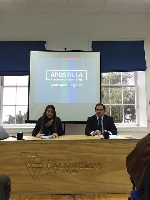 Apostilla en Valparaíso 04/05/2016