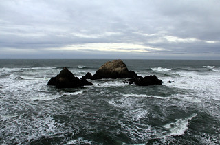 Turbulent Seal Rocks | by San Francisco Gal