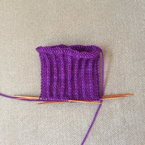Second Twisted sock