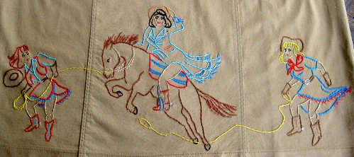 Embroidered Cowgirl Dress | by CassieBelts