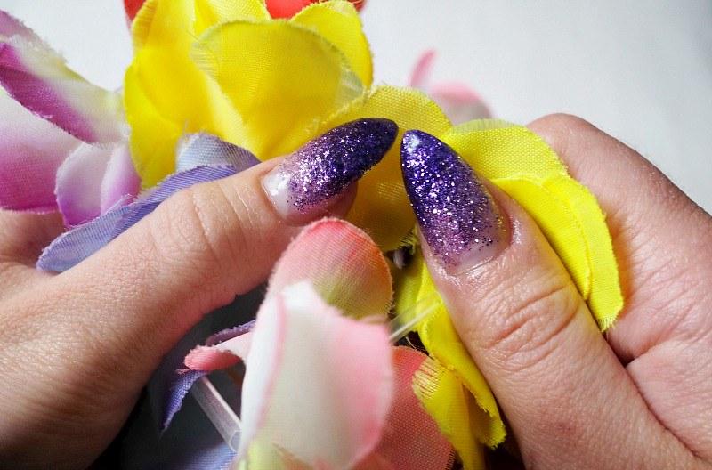 violet nails1