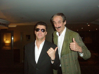 Simon Cowell & Basil Fawlty | by Edmond Wells