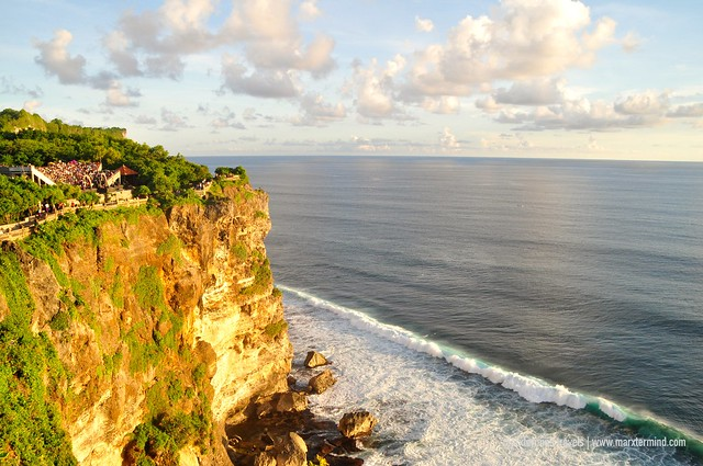 Waiting for the Sunset at Uluwatu Temple Bali