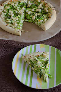 Shaved Asparagus Pizza 10 | by Seeded at the Table