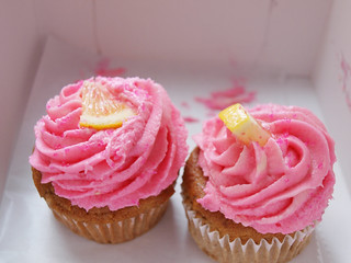Vegan pink lemonade cupcakes from Clementine's bakery in Brooklyn! | by Krista June
