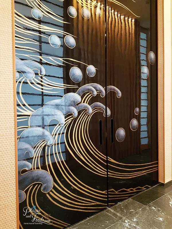 taka by sushi saito st regis kl huge door