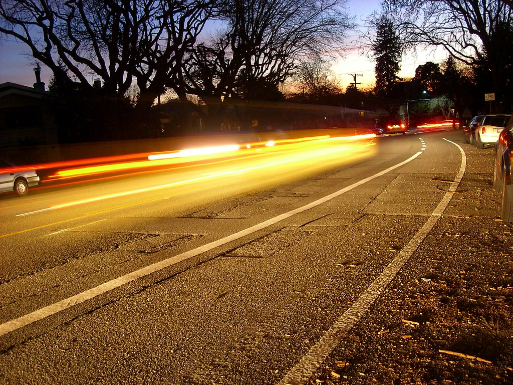 headlights, Marin Avenue, Berkeley, February 11, 2011 | by /\/\ichael Patric|{