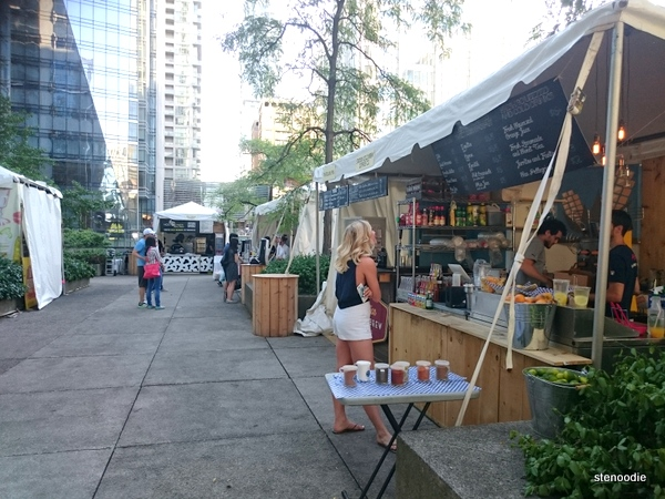 Front Street Foods at Adelaide Place vendors