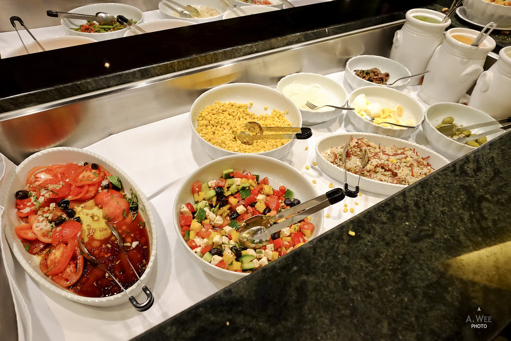 Appetizer and salad bar