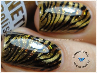 Tiger nails | by Kelly Cris Ju