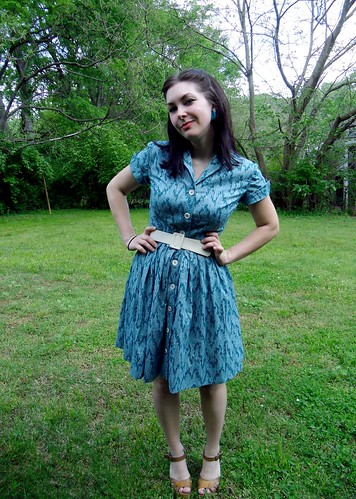 Shirtwaist Dress | by lladybird