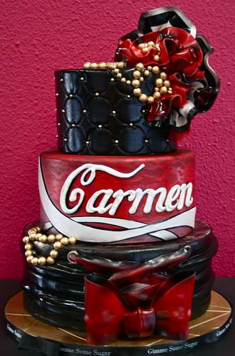 Carmen Electra Birthday Cake