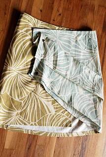 pleats wraparound skirt | by -leethal-