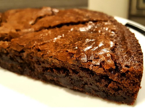 Time for an iced americano and a piece of brownie! ☕❤ #caffedbolla #baking #brownie #slc #coffee