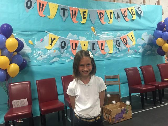 Ava Grade 5 Graduation