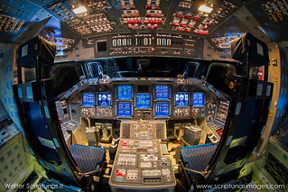 Space Shuttle Endeavour Powered Flight Deck | by Scriptunas Images
