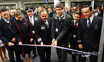 LATAM inauguracion vuelo SCL_LPB (RD)