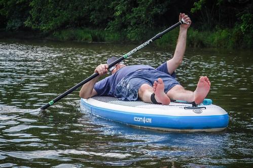 Kayaking and SUP on Saluda Lake-17