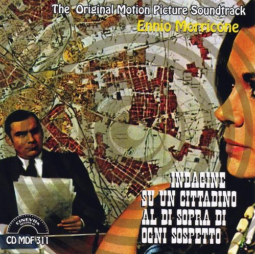 Indagine Su Un Cittadino Al Di Sopra Di Ogni Sospetto - Soundtrack Cover 1