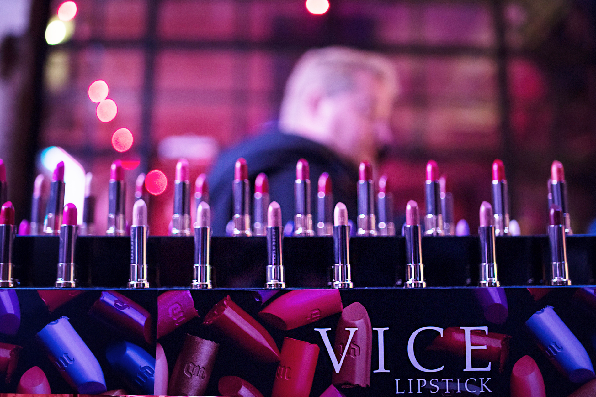 lipstickismyvice ruby rose new york city event urban decay lipstick party backyard industrial party brooklyn beauty beautyblogger makeup rock'n'roll chic fashionblogger germany cats & dogs ricarda schernus blogger 4