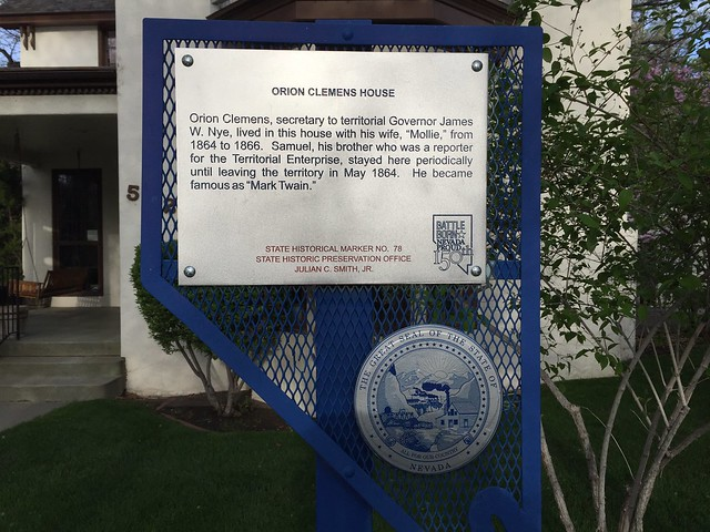 Nevada Historical Marker #78