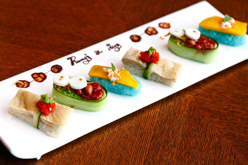 Ruyi & Lyn Sushi Platter