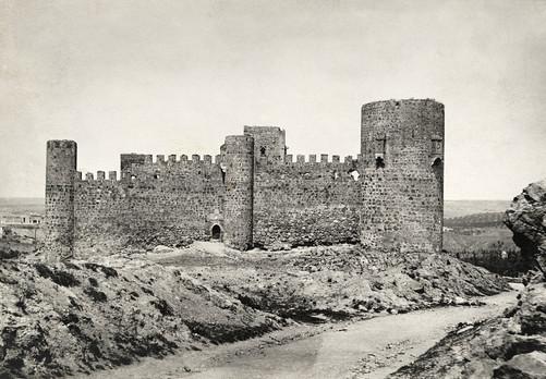 Castillo de San Servando en Toledo hacia 1910 por Charles Upson Clark