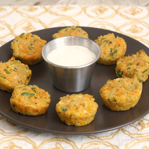 Cheesy Quinoa Bites | by Tracey's Culinary Adventures