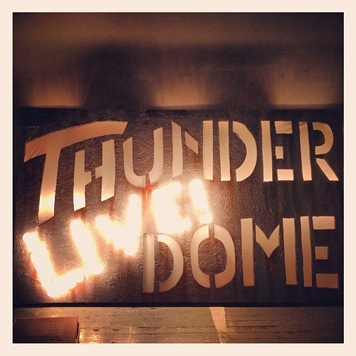 #thunderdome #rave #symbiotic #darkmatter #sign #scenicartist #decor #lighting #awesome | by danielle_blue